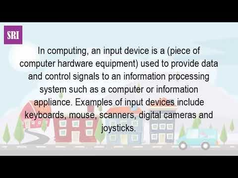 What Is An Input Device And Examples?