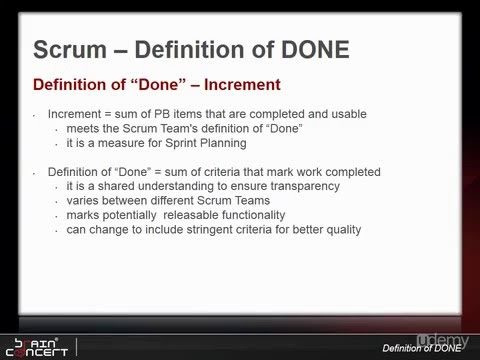 09 [Tutos Scrum Agile | Understanding Definition of DONE
