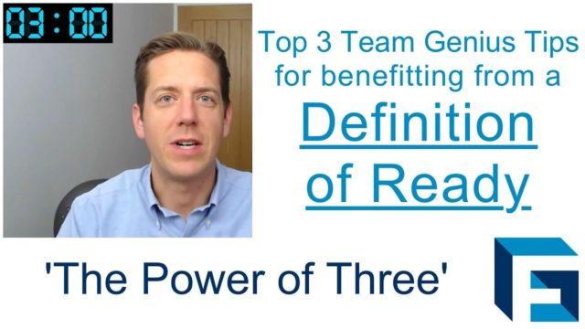 Definition of Ready – Boost its value for you with these three top tips